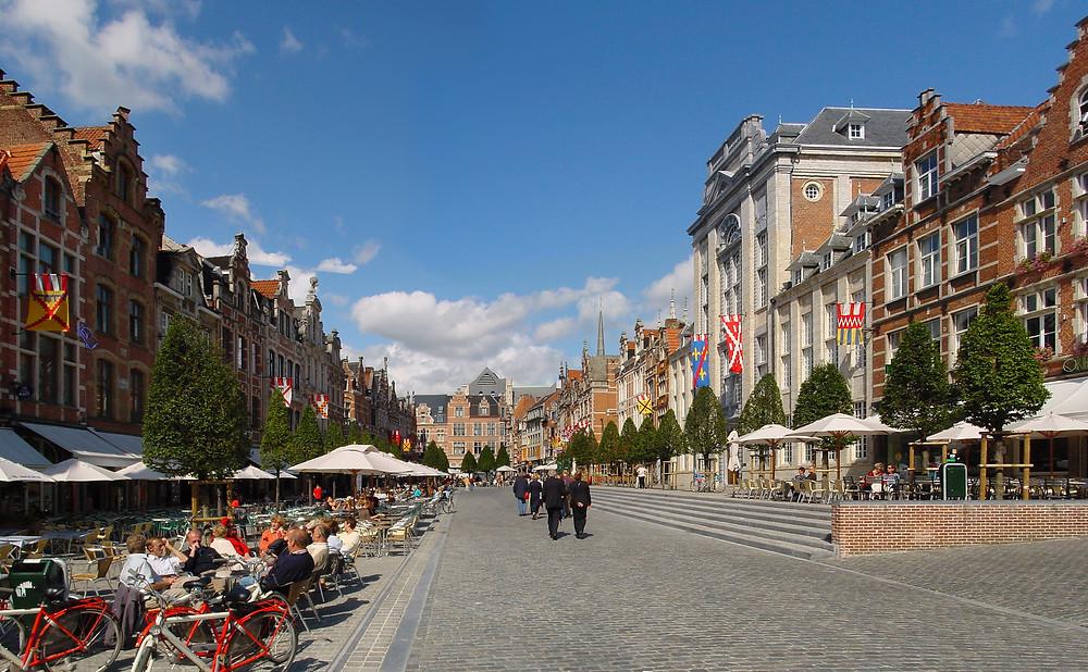 Europe's longest bar Leuven