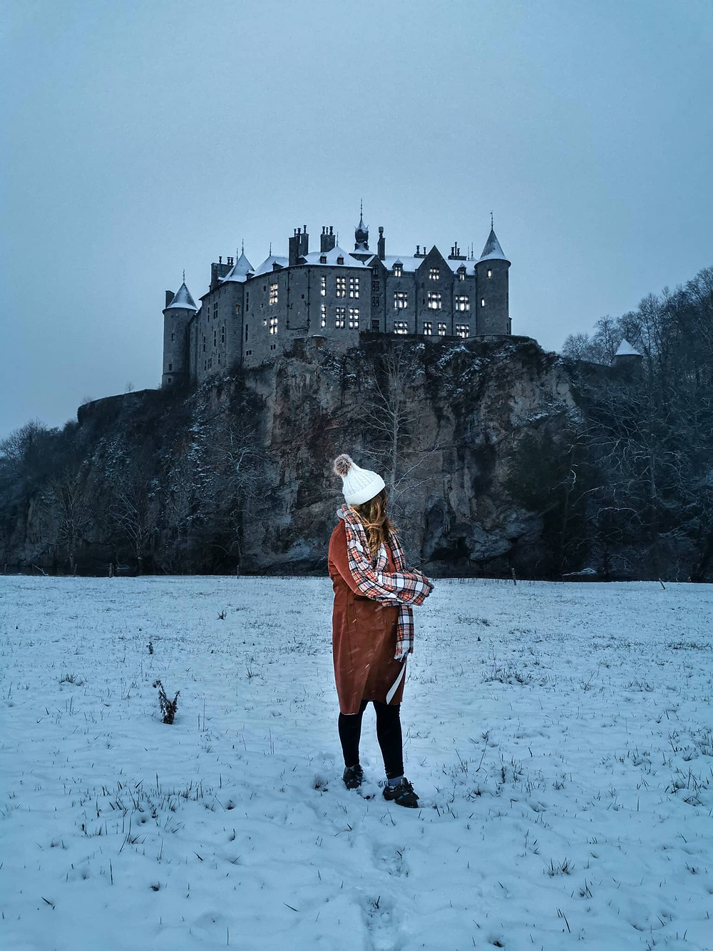 Viewpoint castle Walzin