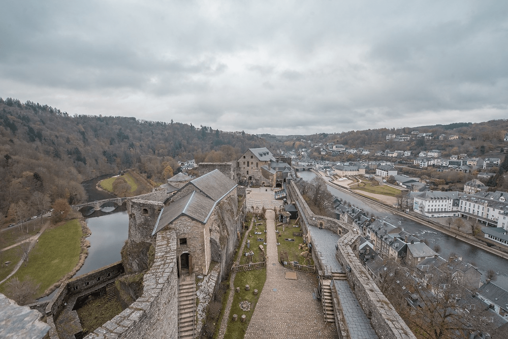 Viewpoint over Bouillon