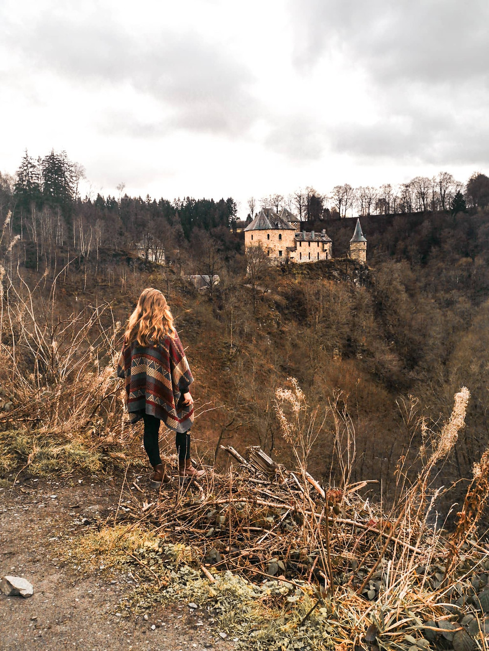 Viewpoint castle Rheinhardstein