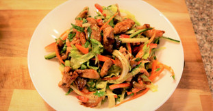 Fresh Sauteed Chicken Salad