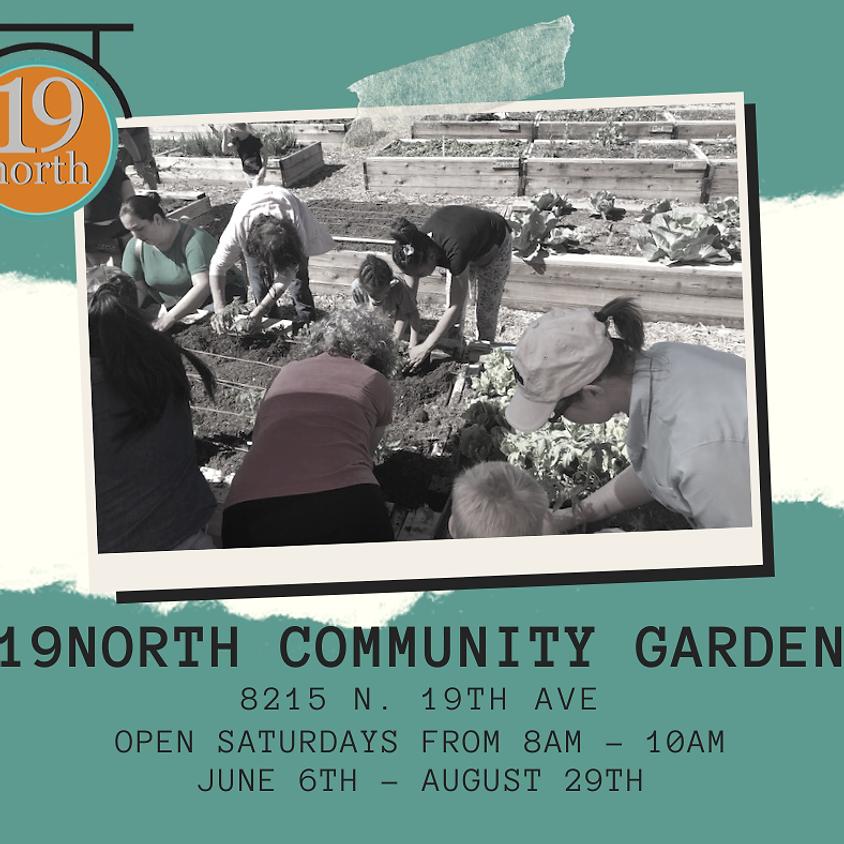Garden Work Day - Back Open!