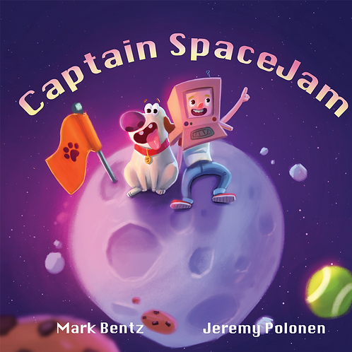 Captain Space Jam and Jelly in The Maiden Voyage