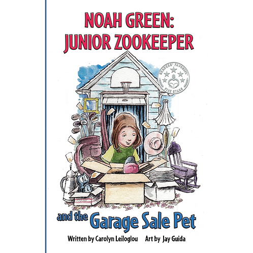 Noah Green: Junior Zoo Keeper Chapter Book Series: Garage Sale Pet
