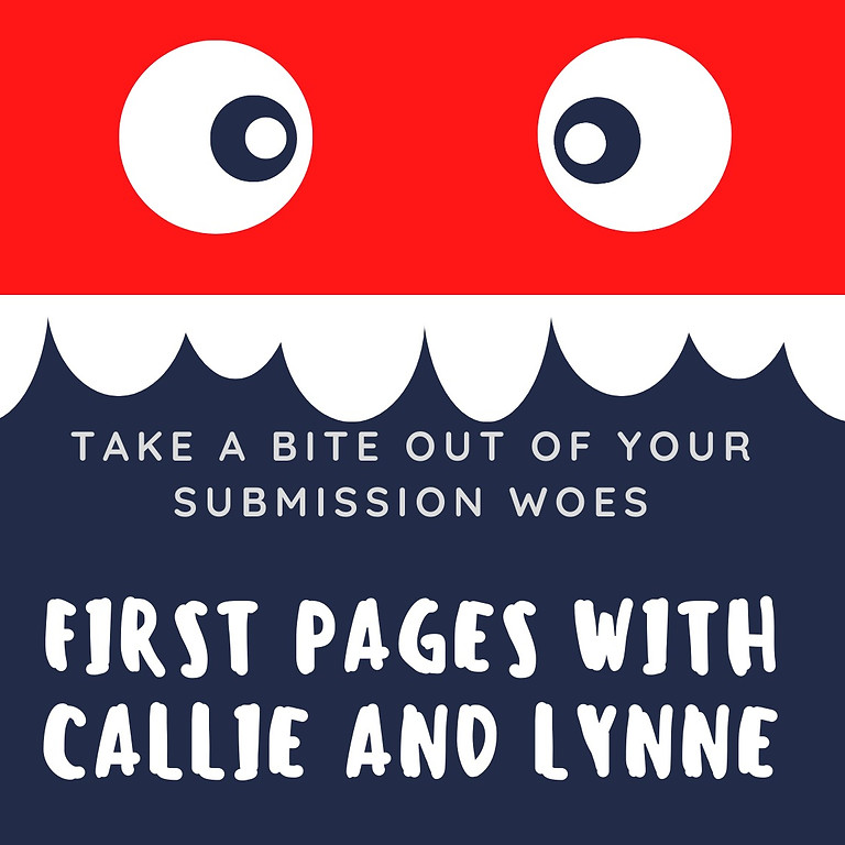 First Pages with Callie and Lynne - July 2, 2021 at 6 PM EST
