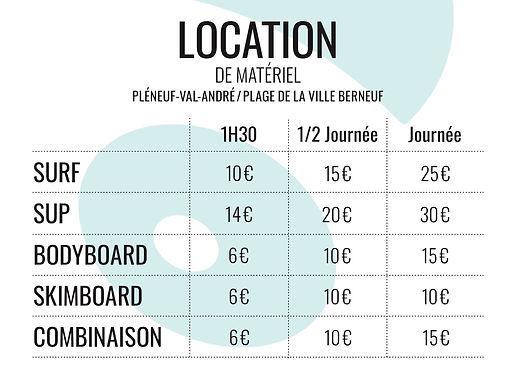 Location surf Stand up paddle, côtes d'armor, bretagne, Pléneuf-Val-André