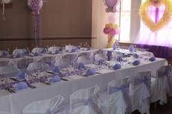 Hochzeitstafel im Leinnerhaus