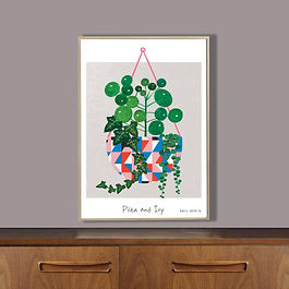 'Pilea & Ivy' Print   From £14.50