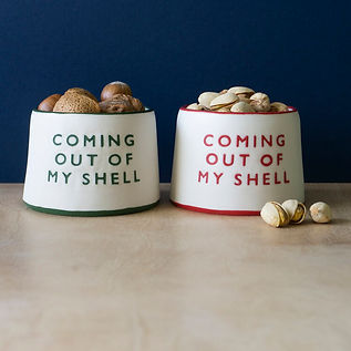 'Coming Out Of My Shell' Pot