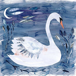 'White Swan' Giclée Print   From £30.00