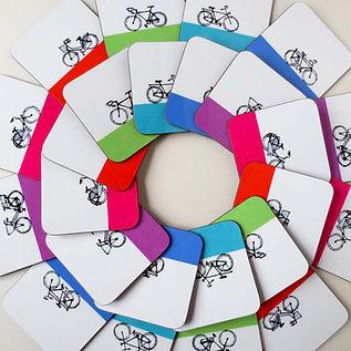 'Bike' Coasters