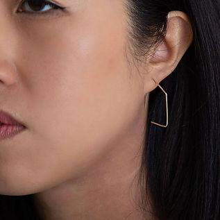 Diamond Threader Earrings