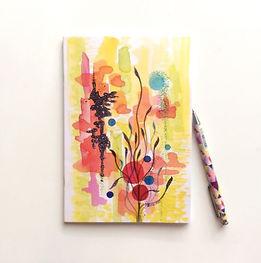 'Japanese Garden' Notebook | £5.00