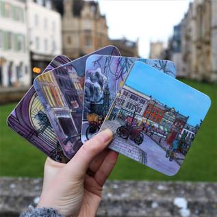 Cambridge Scene Coasters