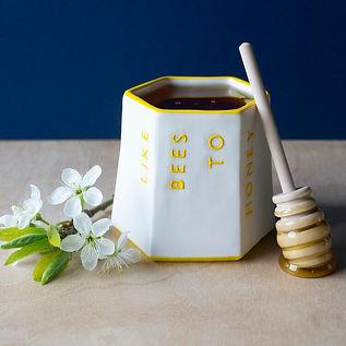 'Like Bees To Honey' Pot