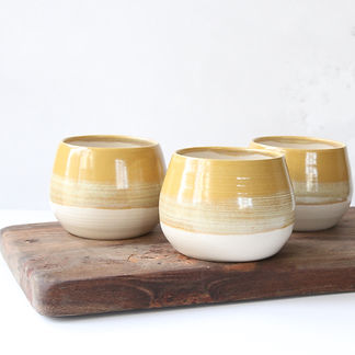 Stoneware Tea Bowl Cup by Claire Folkes
