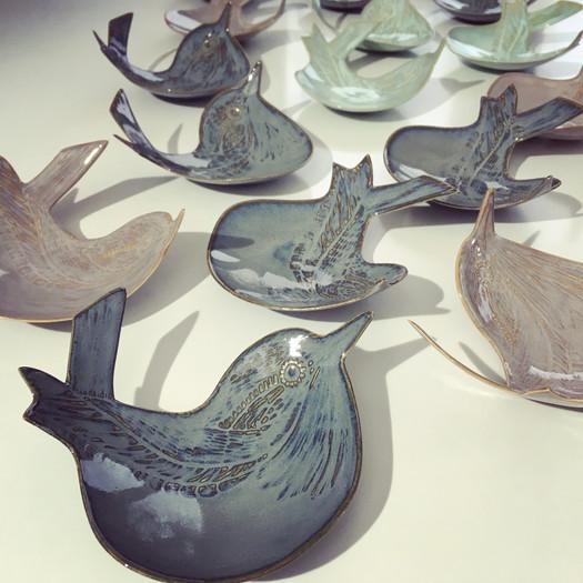 ruth-fairhead-ceramics-wrens-collection