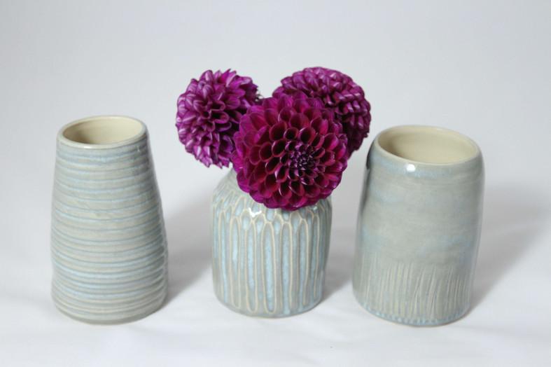 claire-folkes-grey-stoneware-bud-vases