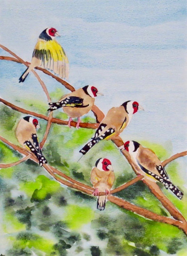 fabfabsely-goldfinches-watercolourjpg