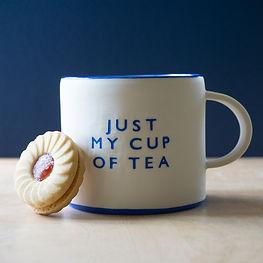 'Just My Cup of Tea' Teacup | £35.00