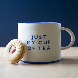 'Just My Cup of Tea' Teacup   £35.00