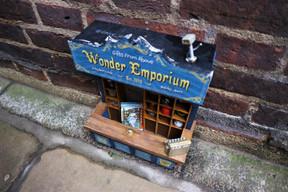 The Trove Cambridge - The Treasures Boxes Dinky Doors.JPG