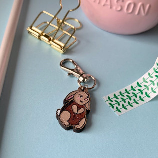 Bour-Bunny Keyring