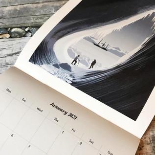 'Pole To Pole' Calendar 2021