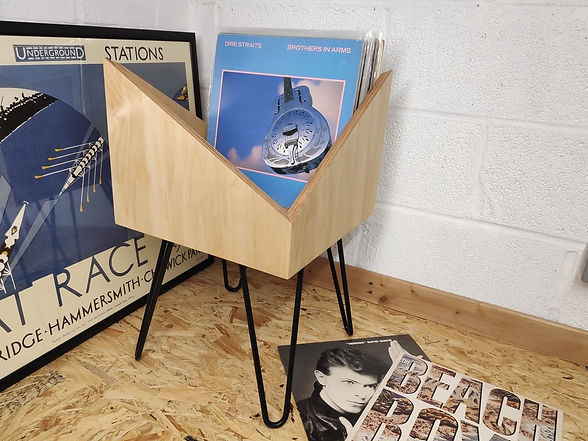Millar Made - Vinyl Stand Birch Ply, Han