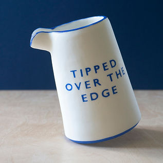 'Tipped Over The Edge' Pourer