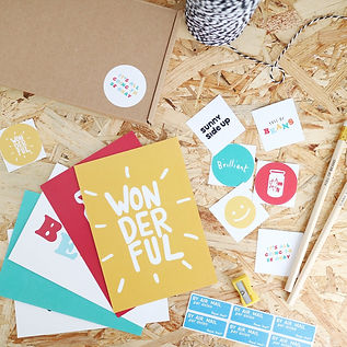 Keep In Touch Stationery Box