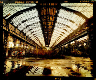 Factory Spine Fine Art Photography Print by Richard Heeps
