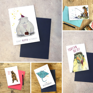 Any 5 Greetings Cards Deal by Snowtap
