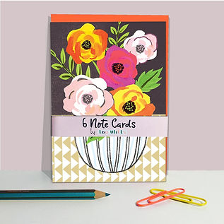 Peony Note Cards