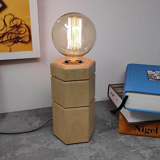 Modern Edison Table Lamp