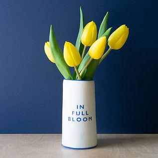 'In Full Bloom' Vase