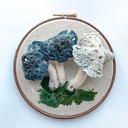 3D Mushroom Wall Art | £78.00