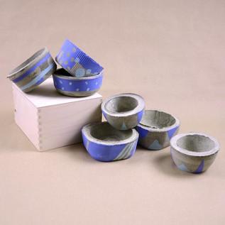 Concrete Pots - Cool Collection