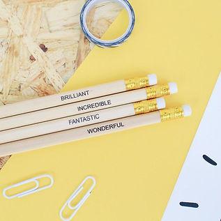Positive Pencils Set