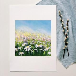 'Summer Breeze' Art Print