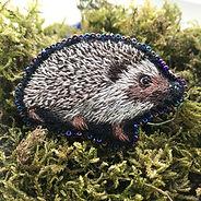 Hedgehog Brooch | £25.00