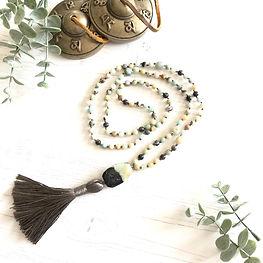 Amazonite Mala Necklace | £49.00