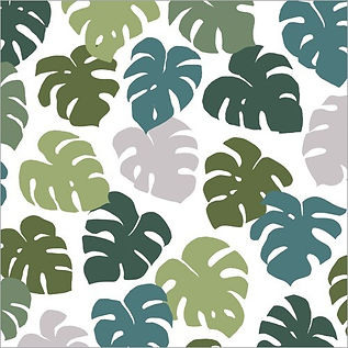 'Monstera Leaves' Wrapping Paper