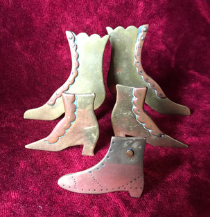 Trench Art Shoes by Retro Ross Antiques & Collectibles