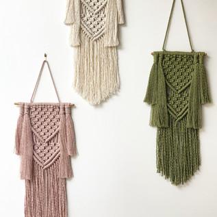 Custom Macrame Hanging