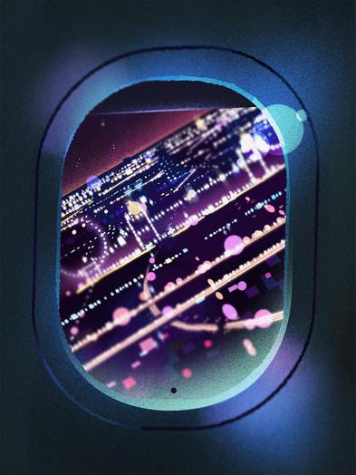 celine-choo-landing-lights-illustratio