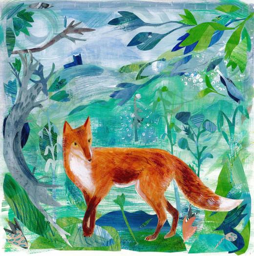 emma-malfroy-art-fox-30x30cm-paint