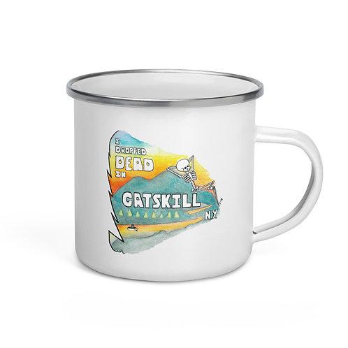 The 'Vacation' Enamel Mug
