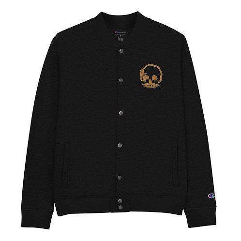 The 'Vintage Vince' Embroidered Champion Bomber Jacket
