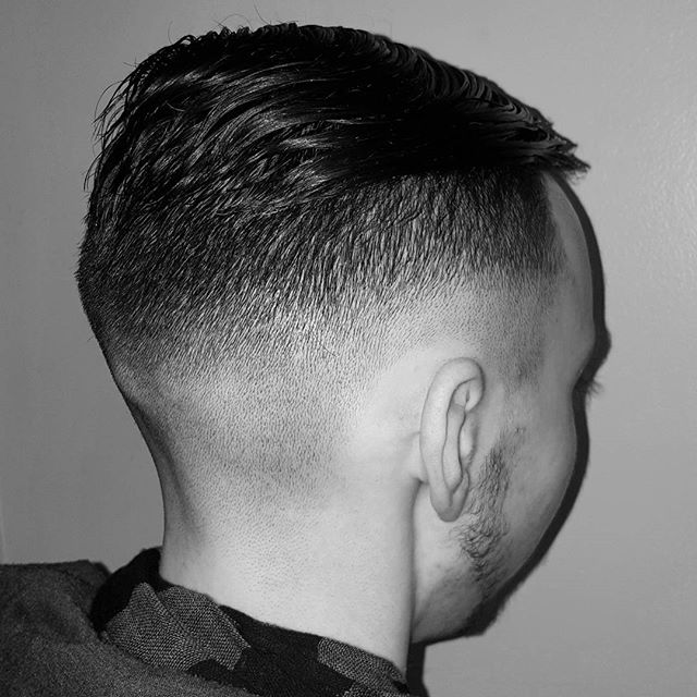 hair cut skin fade barber service